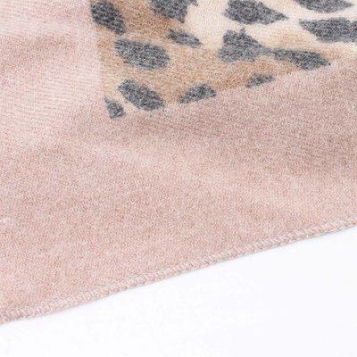 "Scarf ""Camo Cheetah"" pink/brown"