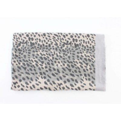 "Sjaal ""Camo Cheetah"" grijs"