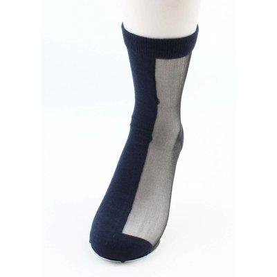 "Sokken ""Dubbel"" blauw, per 2 paar"