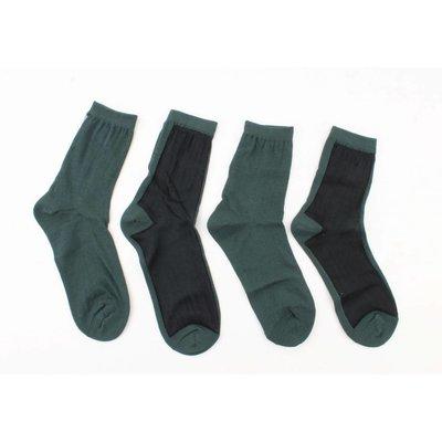 """Socken """"Doppelte"""" petrol, doppelpack"""