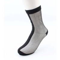 "Socks ""Double"" black, per 2 pairs"