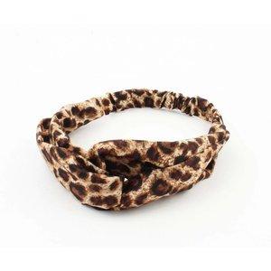"Stirnband ""Panther"" braun, doppelpack"