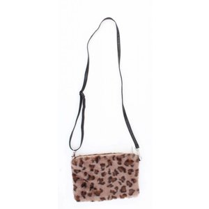 "Clutch ""Panter"" taupe"