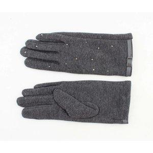 """Handschoenen """"Bab"""" grijs melee"""