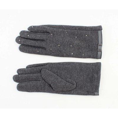 "Handschuhe ""Bab"" grau melange"