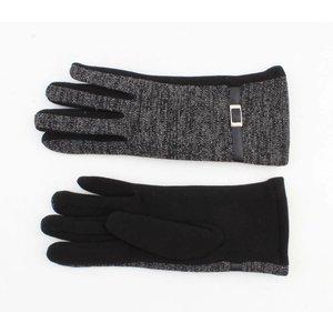 """Handschoenen """"Babbette"""" antraciet"""