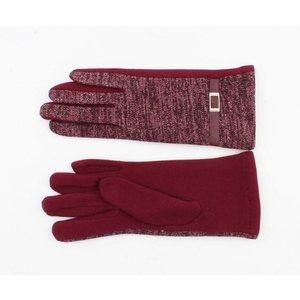 "Handschoenen ""Babbette"" rood"
