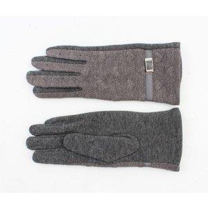 "Gloves ""Bea"" grey"
