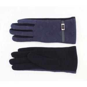"""Gloves """"Bea"""" navy"""