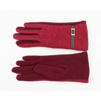 """Gloves """"Bea"""" red"""