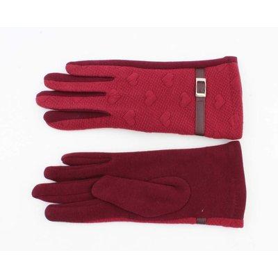 "Handschuhe ""Bea"" rot"