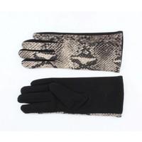 """Handschuhe """"Schlange"""" grau"""