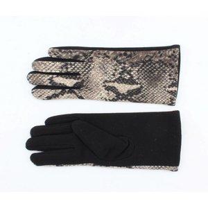 "Gloves ""Snake"" grey"