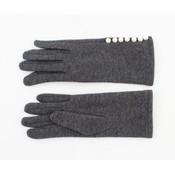 """Handschoenen """"Parels"""" grijs melee"""