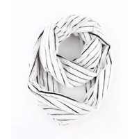 "Loop scarf ""Busra"" white"