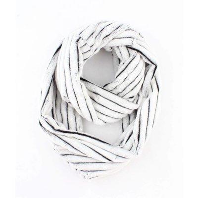 """Loop sjaal """"Busra"""" wit"""