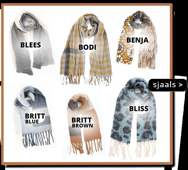 Nieuwe Winter Sjaal Collectie