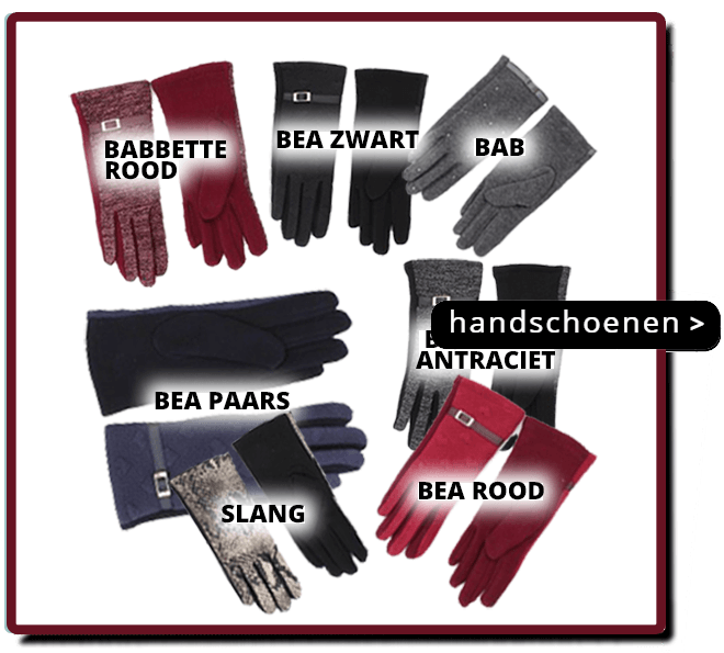 Nieuwe Winter Handschoen Collectie
