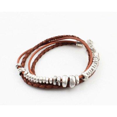 """Armband """"Rune"""" braun"""
