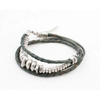 "Bracelet ""Rune"" petrol"