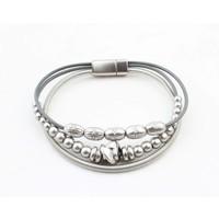 """Bracelet """"Sigrid"""" silver/grey"""
