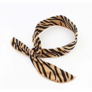 "Headband ""Mikaela"" brown, per 2pcs."