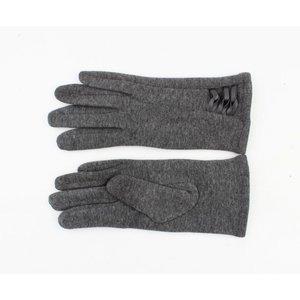 "Handschuhe ""Thyrza"" melange grau"