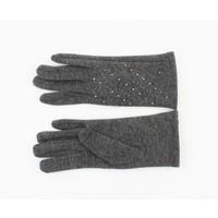 """Handschoenen """"Stine"""" melee grijs"""