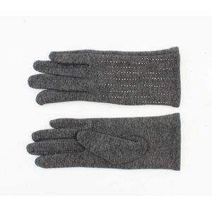 """Handschoenen """"Siri"""" melee grijs"""