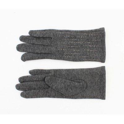 """Handschoenen Siri"""" melee grijs"""