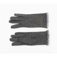 """Handschoenen """"Ari"""" melee grijs"""