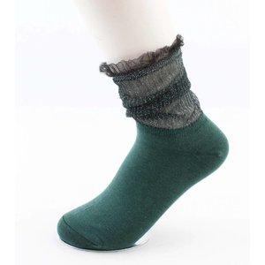 """Socken """"Brendy"""" grün"""