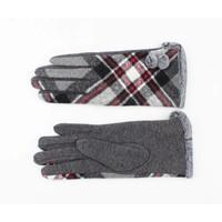 """Handschuhe """"Orsi"""" grau/multi"""