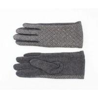 "Handschuhe ""Piroska"" melange grau"
