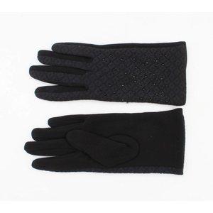 """Gloves """"Piroska"""" black"""