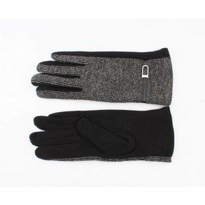 """Handschuhe """"Tünde"""" schwarz/anthrazit"""