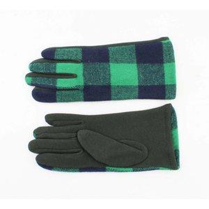 "Gloves ""Kinga"" green"