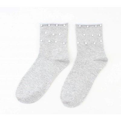 "Socken ""Csilla"" grau"