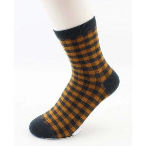 "Socks ""Etelka"" yellow ochre"