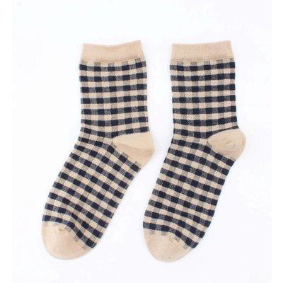 "Socken ""Etelka"" braun"