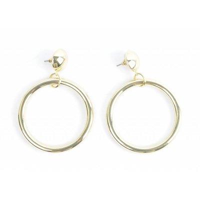 """Earring """"Kool"""" gold"""