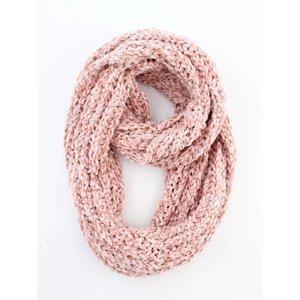 """Loop scarf """"Gabriella"""" pink"""