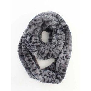 """Loop sjaal """"Dora"""" grijs"""
