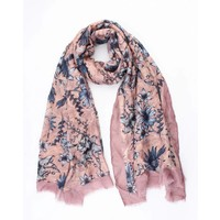 "Scarf ""Rozsa"" pink"