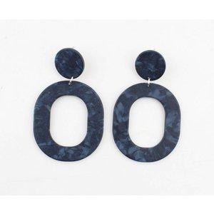 "Earring ""Cornelia"" blue"