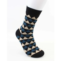 "Socks ""Dario"" black/blue"