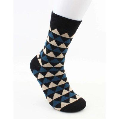 """Socken """"Dario"""" schwarz/blau"""
