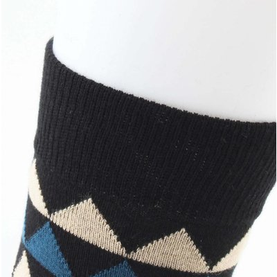 "Socks ""Dario"" black/blue"