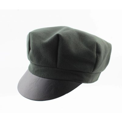 "Baker Boy cap ""Hugo"" green"