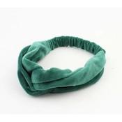 """Haarband """"Emilia"""" groen"""